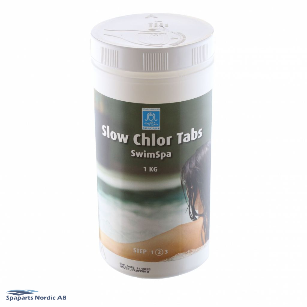 Spacare SwimSpa - Slow Chlor Tabs - 125g